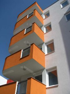 Ytong prenova, balkonska ograja