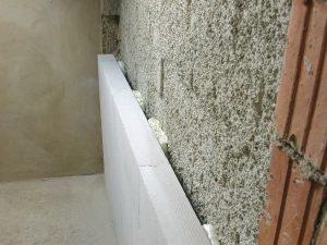 Ytong prenova, oblaganje stene