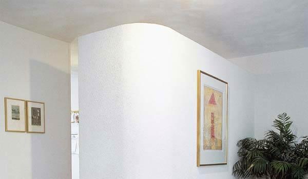 Ytong prenova, polkrožna stena