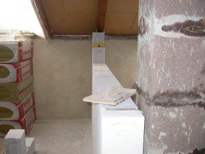 Ytong prenova, predelna stena