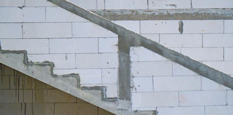 Ytong prenova, stopnice