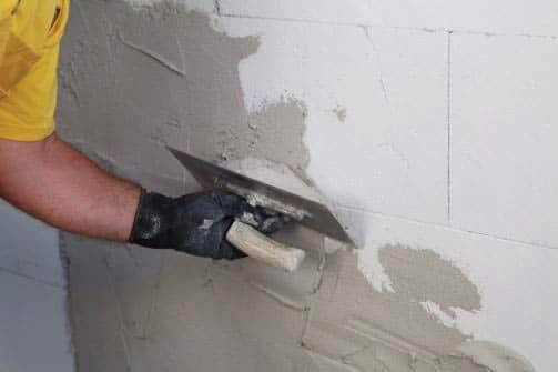 Ytong prenova, obdelava notranjih zidov