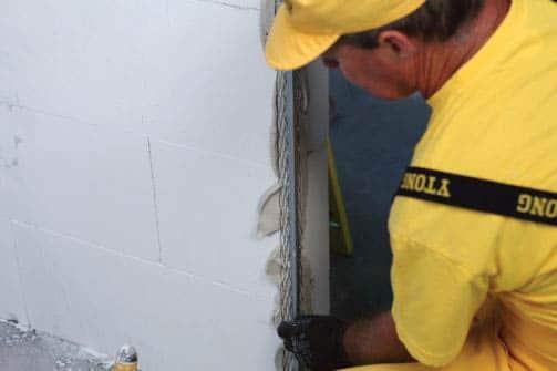 Ytong prenova, obdelava zidov