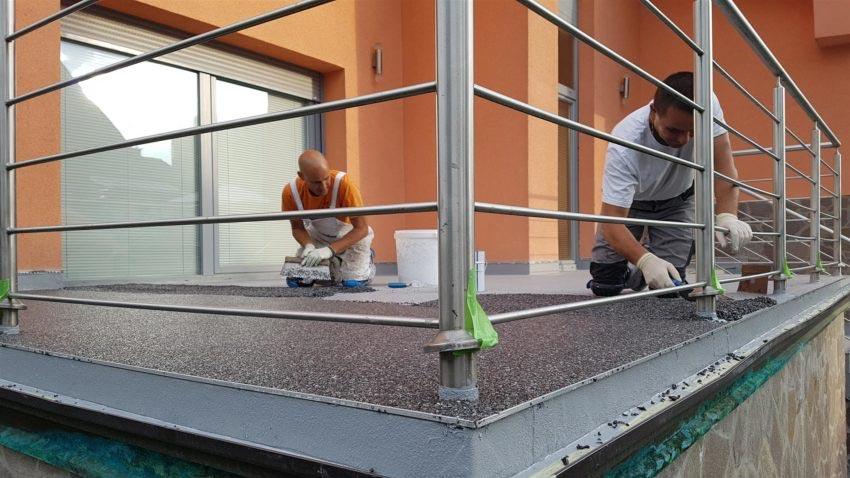 Hidroizolacija balkonov in teras