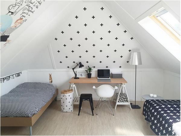 Otroška soba v minimalističnem stilu