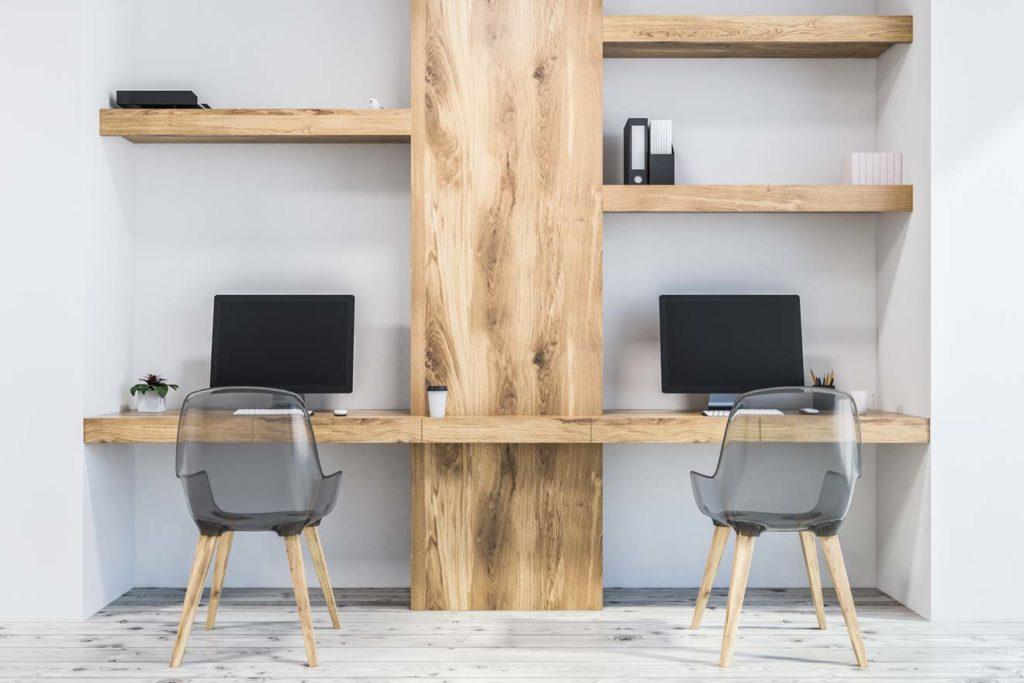 Domača pisarna na 4m2