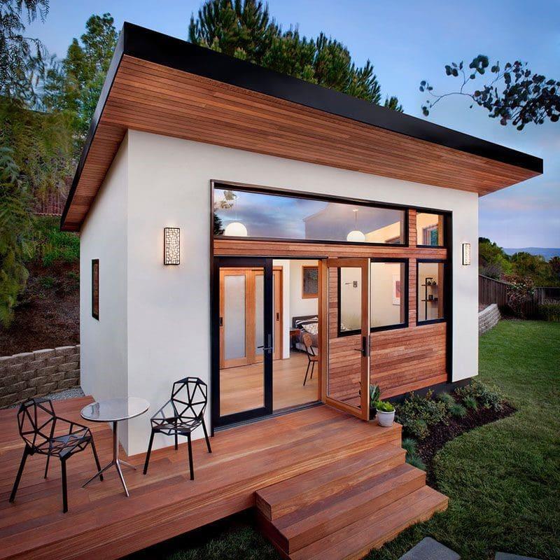 """Majhna hiša ali """"tiny house"""""""